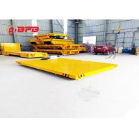China Petrochemical Heavy Duty Die Carts , 1 - 300T Load Electric Powered Cart on sale
