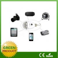 Best 2W / 6V DC solar power camping led light, mini solar led light with 5v USB port for cheap sale wholesale