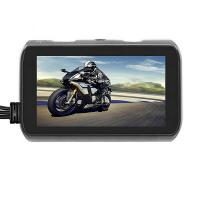 Best 720P Motorcycle Dashcam Recorder dual lens dvr camera with remote controller wholesale
