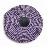 China Acrylic Knitted Women's Cap with Lurex Thread on sale