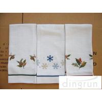 China Lightweight Kitchen Tea Towels Good Water Absorbent Machine Washable on sale