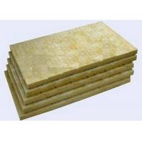 Best High Strengh Rigid Rockwool Insulation Boards Acoustic Insulation Materials Indoor / Outdoor wholesale