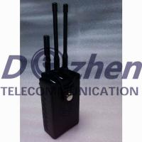 Best Portable Car Signal Jammer , All Remote Controls Radio Frequency Blocker Jammer wholesale