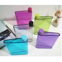 China A5 notebook Water bottle ,A5 size Memo Plastic Sport water bottle,A5 flat water bottle on sale