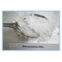 Buy cheap Benzocaine HCL 23239-88-5 Local Anesthetic Drug 99% Purity Quick Effect from wholesalers