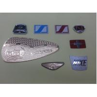 Best Zinc Alloy / Brass Customized Name Plates , 0.2~1.0mm Thickness wholesale