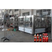 China Soft Drink Bottle Filling Machine Automatic Capping Equipment 15000BPH wholesale