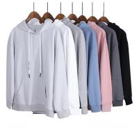 Oem service custom your printing/embroidery logo men's blank oversize pullover