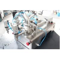 China Semi - Automatic Pneumatic Paste Filling Machine With Stainless Steel Material on sale