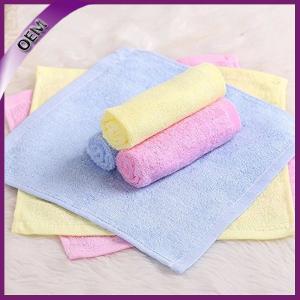 China wholesale high quality bamboo organic baby washcloth 25*25cm on sale