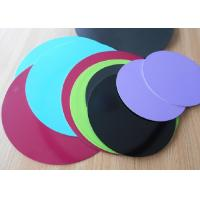 Best 1.8mm Thick 3003 Aluminum Circle Sheet Red Teflone Coating 250mm Corrosion Resistance wholesale
