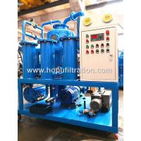 China Double Stage Vacuum Transformer Oil Dehydration Plant,Transformer Oil Regeneration System,Crude Oil Purification Machine on sale
