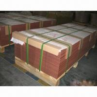 China Copper Sheet for Transformer, Water Heater Exchanger Unit and Electrical Equipment on sale
