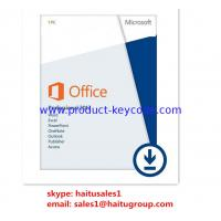 China Effective Microsoft Office Product Key Codes , FPP Office 2013 Professional Key on sale