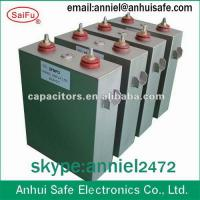 China high voltage power oil filled capacitor 1000UF 900VDC on sale