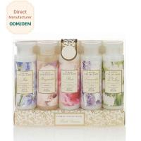 Best Womens Bubble Bath Gift Sets 305ml Shower Gel 200ml Body Lotion ODM Service wholesale