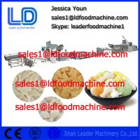 Best 2014 hot sale Automatic Screw self-cleaning 3D Snack Pellet processing Machinery wholesale