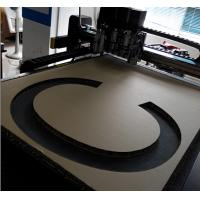 China Honeycomb Letter Sign Making CNC Cutting Table on sale