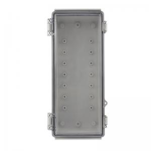 Best Latch Hinged Electrical Enclosure IP65 With Key Lock 260x110x75mm wholesale