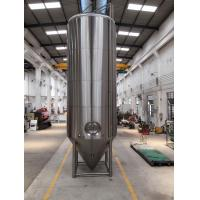 Buy cheap SS 304 Dimple Jacketed Stainless Steel Beer Fermenter 4 Legs With Leveling from wholesalers