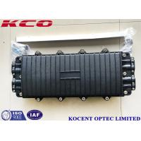Best 288 Cores Fiber Optical Splice Closure Joint Box 8 Ports 4 In 4 Out PC Material KCO-H44280 wholesale