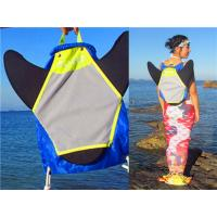 Best Water Resistant Monofin Backpack , Swim Fin Bag Easy Opening And Carrying wholesale