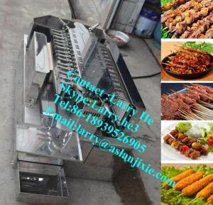 China electric rotary chicken grill machine/rotary grill machine/yakitori grill machine/ rotating yakitori grill machine on sale