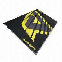 China Economic Motorcycle Mat, Cheapest Motorcycle Mat in the World, Printed with Customized Design on sale