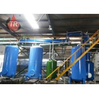 China Easy Operation Waste Oil Recycling Machine For Regenerated Diesel Fuel Oil on sale