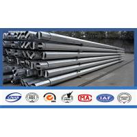 Best 15kV Galvanised Steel Pole For Electrical Power Transmission And Distribution wholesale