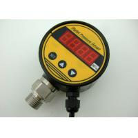 China Plastic Case 4-20mA Signal Output Ecomomic Pressure Controller Digital Pressure Gauge on sale
