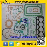 Best Kubota  V1902E V1902B V1902 full gasket kit with head gasket for New Holland L555 L553 excavator engine overhual rebuild wholesale