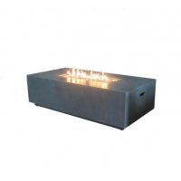 Buy cheap Factory price black real flame LPG NPG outdoor see through gas fireplace from wholesalers