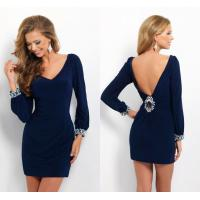 China Sexy Deep V Back Ladies Party Dresses V Neck for Evening Party on sale