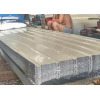 Best Iron Material Color Coated Steel Roofing Sheet 0.15 - 0.8mm Thickness wholesale