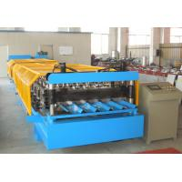 Best Durable Corrugated Roof Panel Roll Forming Machine , Metal Roof Roll Forming Machine wholesale