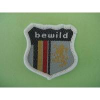 China Taffeta Woven Labels for Clothing on sale