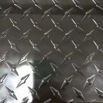 Best Aluminium Diamond Checker Plate / Anti Slip Checker Plate Customized Length wholesale