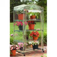 Best hot sale greenhouse shelf with powder coated wholesale