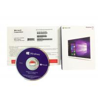 China PC Computer Software Authentic Microsoft Windows 10 Product Key Operating System Retail Box on sale