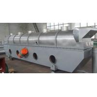 China Continuous Vibrating Fluid Bed Dryer For Chemical , Vacuum Drying Chamber on sale