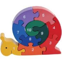Best Wooden Toy Snail - Jigsaw Puzzles (HP1166) wholesale