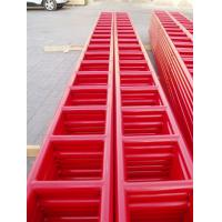 China 6M HDG Painted Steel Ladder Beam Strong Loading Capacity Q195-Q235 Material on sale
