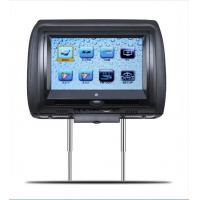 Touch Screen 9 Inch Car Roof DVD Player HD Back Seat Head Rest Monitor USB / SD