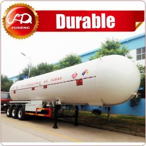 Best ASME standard 3 axle LPG tank trailer, 56000L LPG gas trailer wholesale