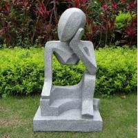 China Professional modern abstract stone sculpture with low price in garden on sale
