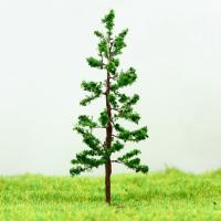 Best N Gauge Railway Layout Miniature Model Trees Green Avenue Wire Tree Pine 6.5cm wholesale