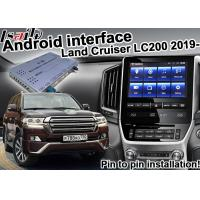 Best Toyota Land Cruiser LC200 2019 Udio Video Interface , Android Navigation Box wholesale