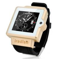 Buy cheap I6 Watch Phone 1.54 Inch Screen MTK6577 Android 4.0 OS Camera 4GB GPS 3G 2.0MP from wholesalers