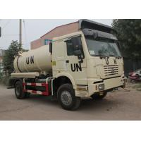 Best Sanitation Enterprise Sewage Suction Truck 8-12CBM LHD 4X2 , Liquid Waste Trucks wholesale